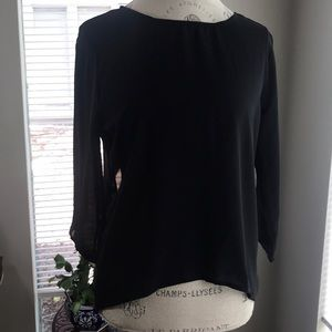 Tops - Super sexy sheer top with open back